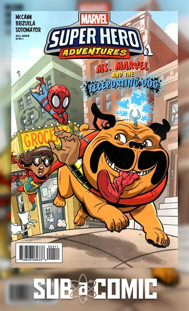 MSH ADVENTURES MS MARVEL TELEPORTING DOG #1