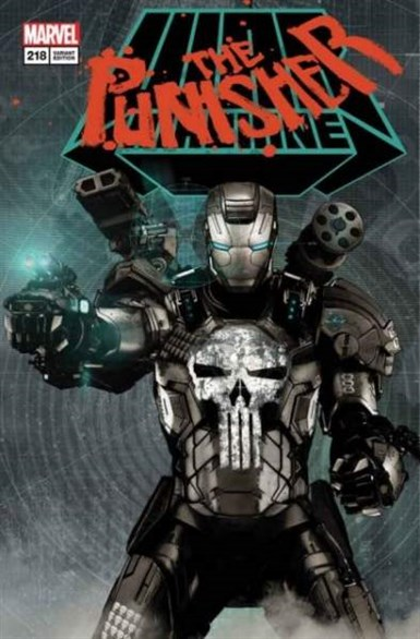 PUNISHER #218 LENTICULAR VARIANT