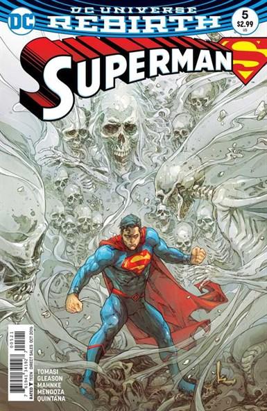 SUPERMAN REBIRTH #5 VARIANT 1