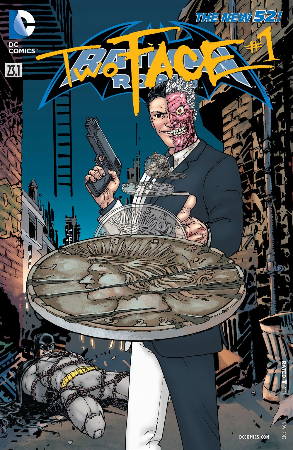 BATMAN ROBIN 23.1 - TWO FACE #1 3D COVER