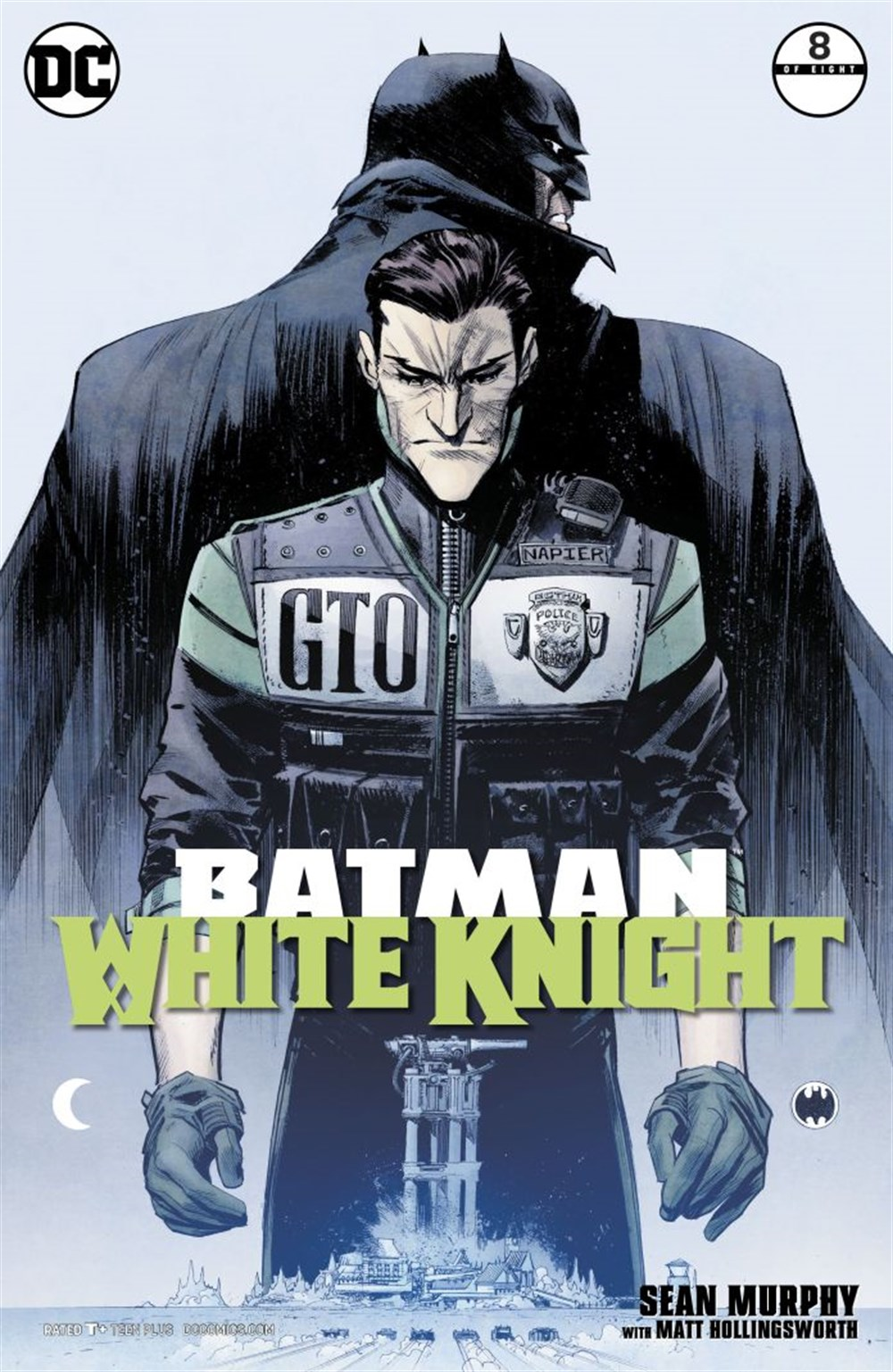 BATMAN WHITE KNIGHT #8