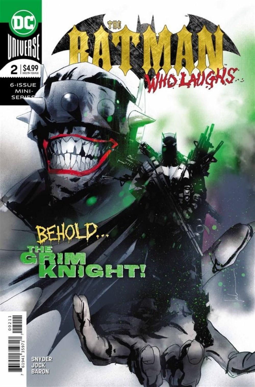 BATMAN WHO LAUGHS #2 (OF 7)
