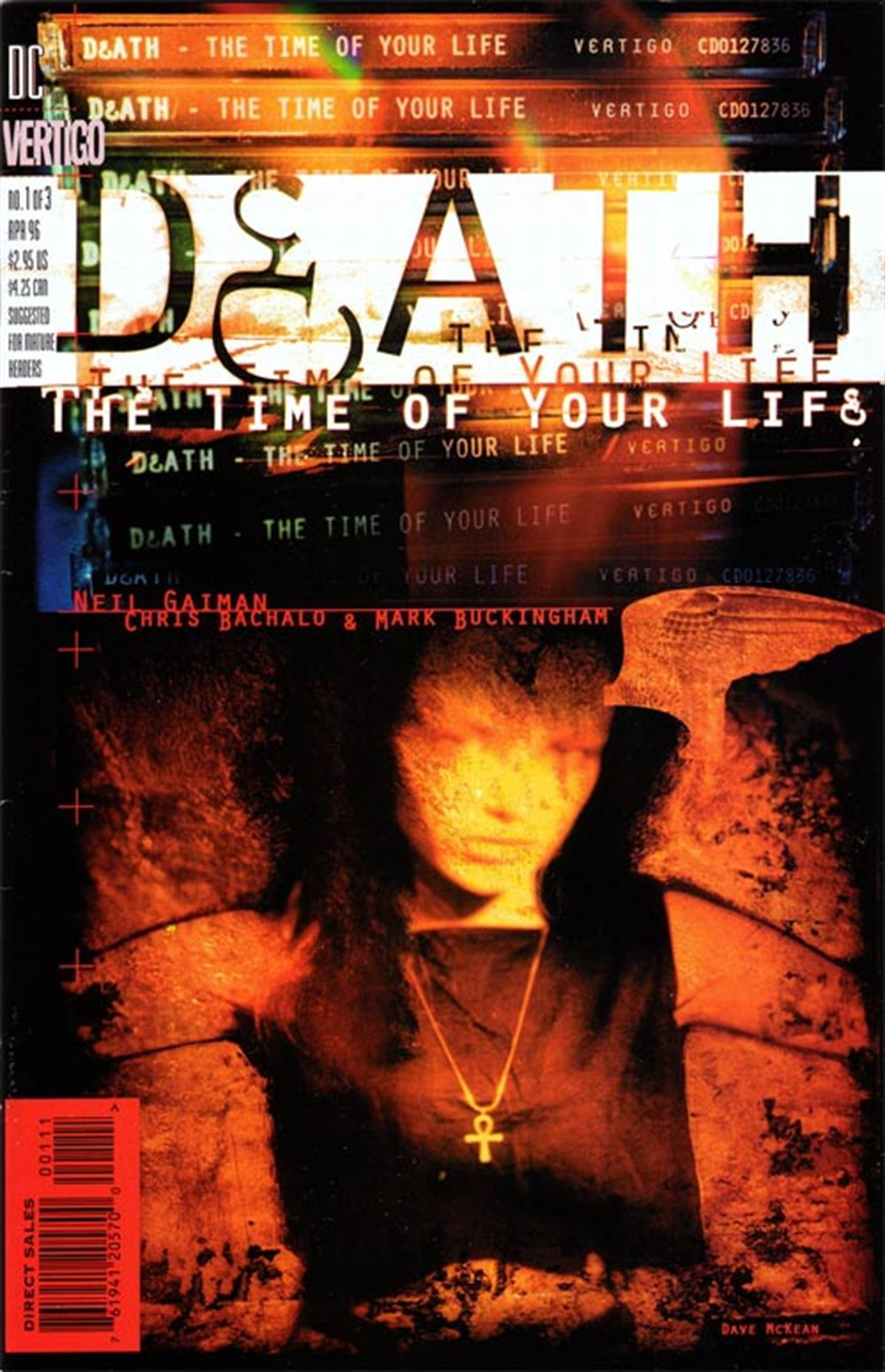DEATH - THE TIME OF YOUR LIFE (1996) #1 OF 3