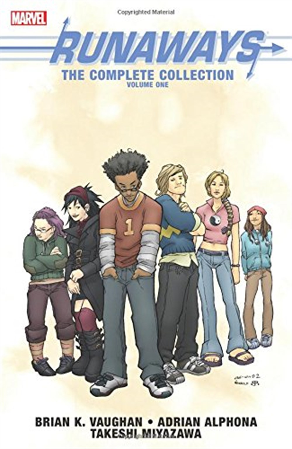 RUNAWAYS THE COMPLETE COLLECTION VOL 1 TPB