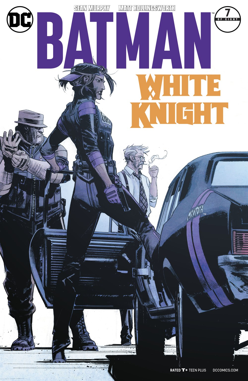 BATMAN WHITE KNIGHT #7 VARIANT