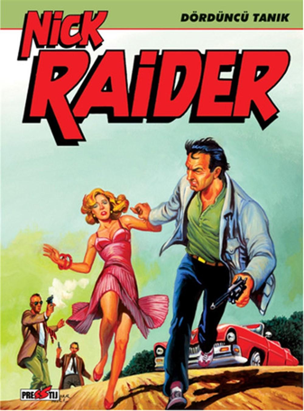 Nick Raider Cilt 2 - Dördüncü Tanık