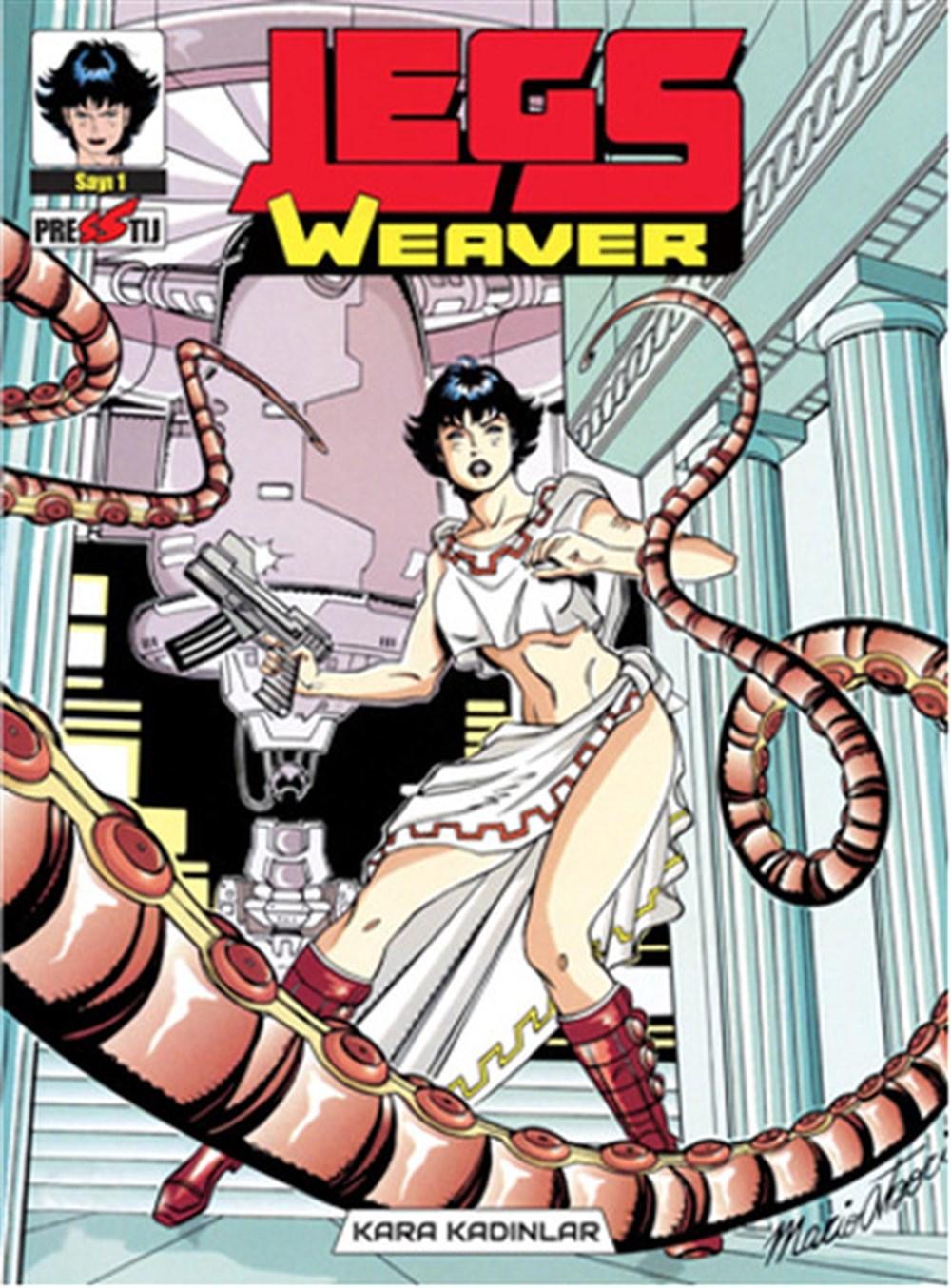 Legs Weaver Cilt 1 - Kara Kadınlar