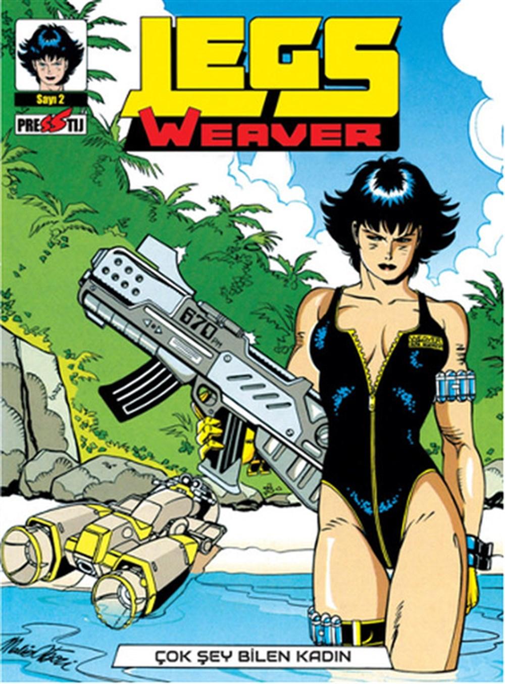Legs Weaver Cilt 2 - Çok Şey Bilen Kadın