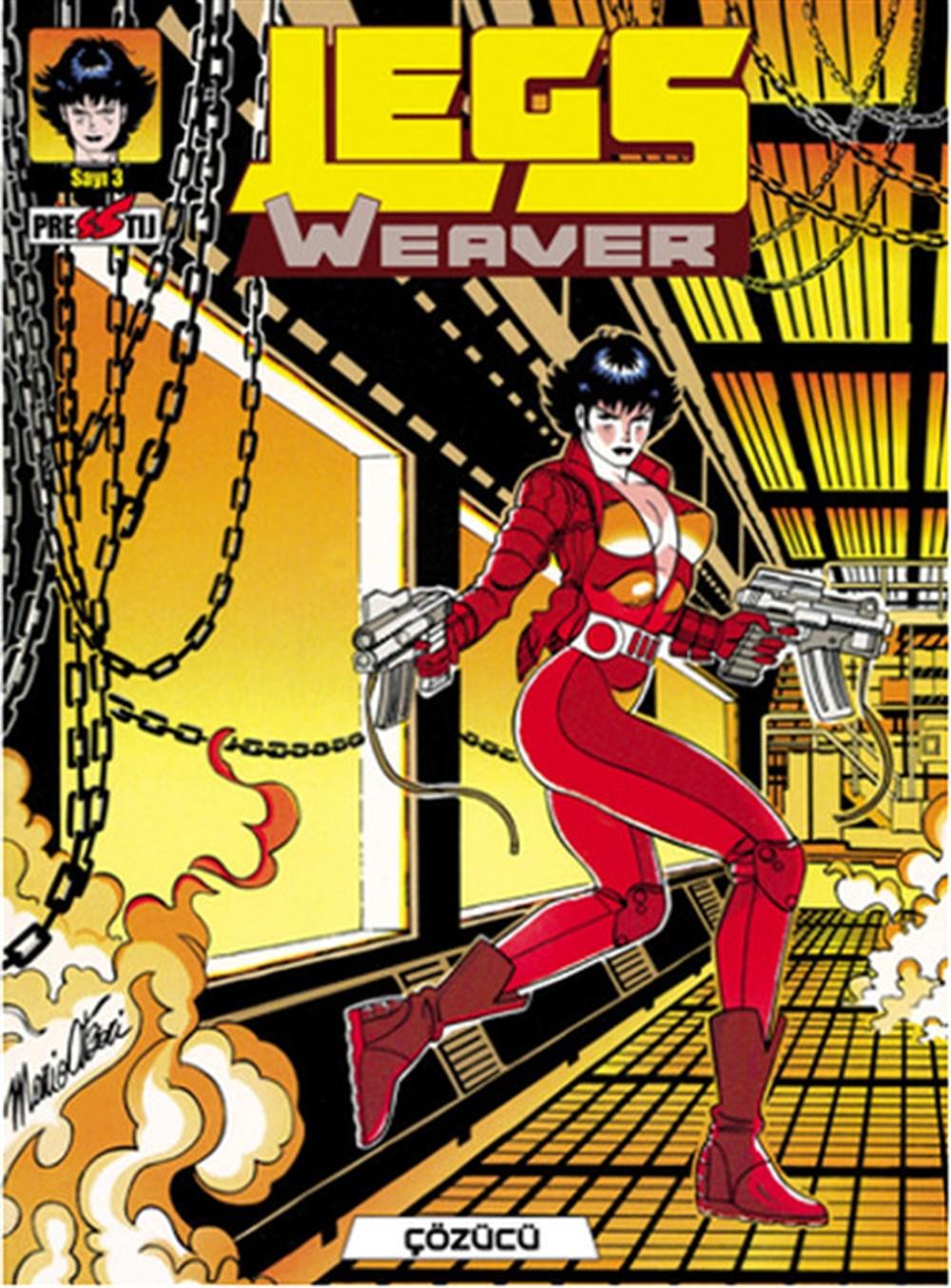 Legs Weaver Cilt 3 - Çözücü