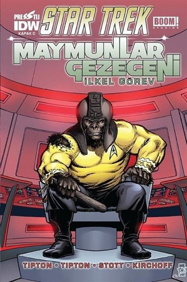 Star Trek Maymunlar Gezegeni - Kapak C