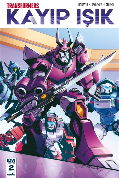 Transformers - Kayıp Işık 2: Kapak A