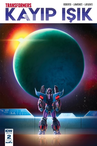 Transformers - Kayıp Işık 2: Kapak B