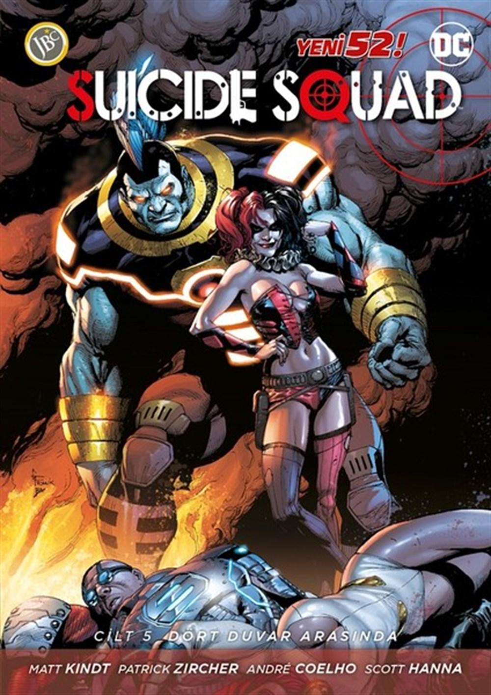 Suicide Squad Yeni 52 Cilt 5: Dört Duvar Arasında