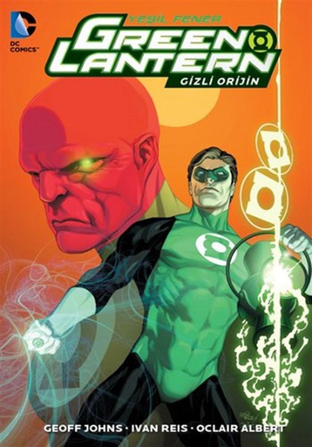 Green Lantern - Yeşil Fener Cilt 2: Gizli Orijin