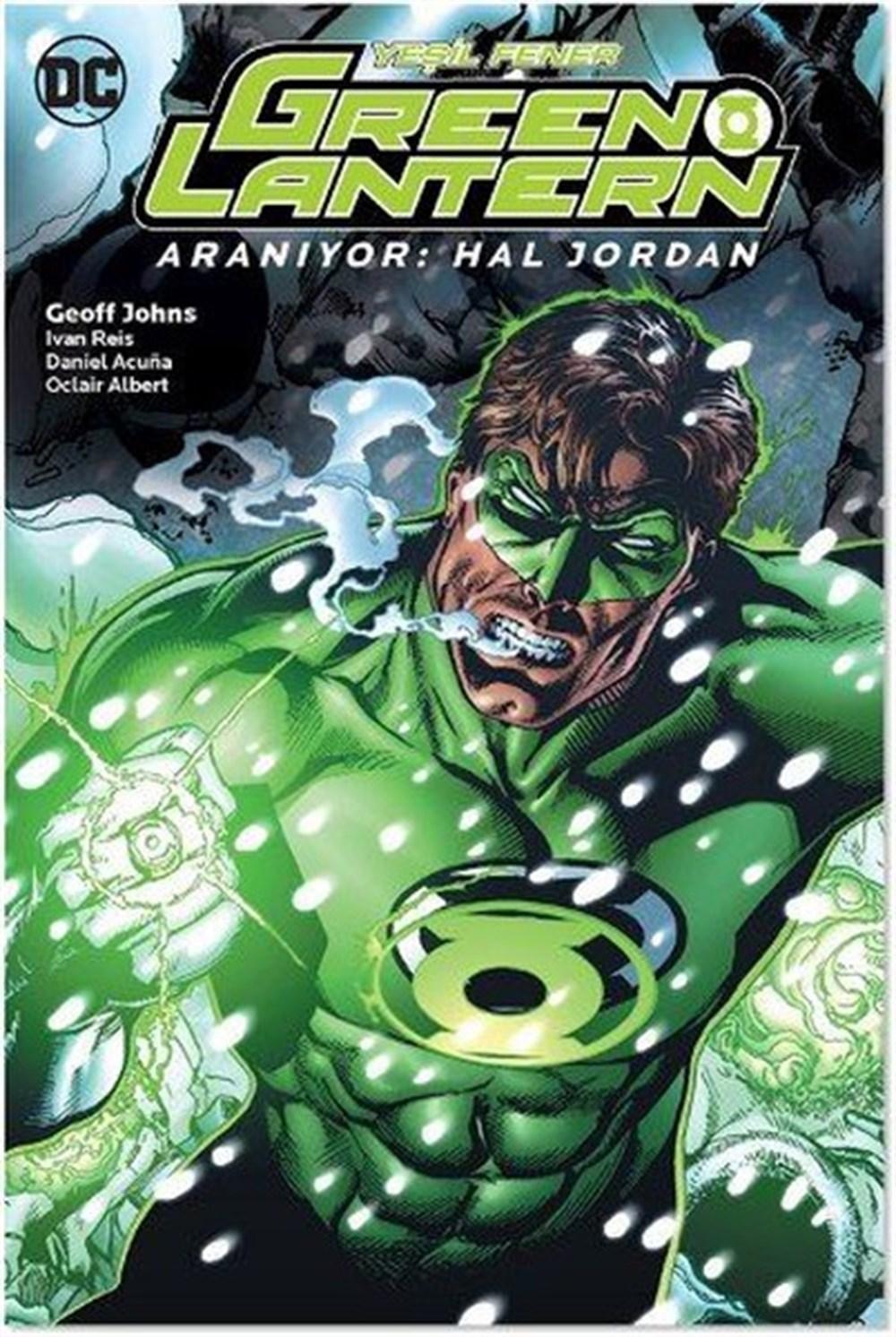 Green Lantern - Yeşil Fener Cilt 5: Aranıyor: Hal Jordan
