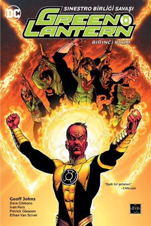 Green Lantern - Yeşil Fener Cilt 6: Sinestro Birliği Savaşı Birinci Kısım
