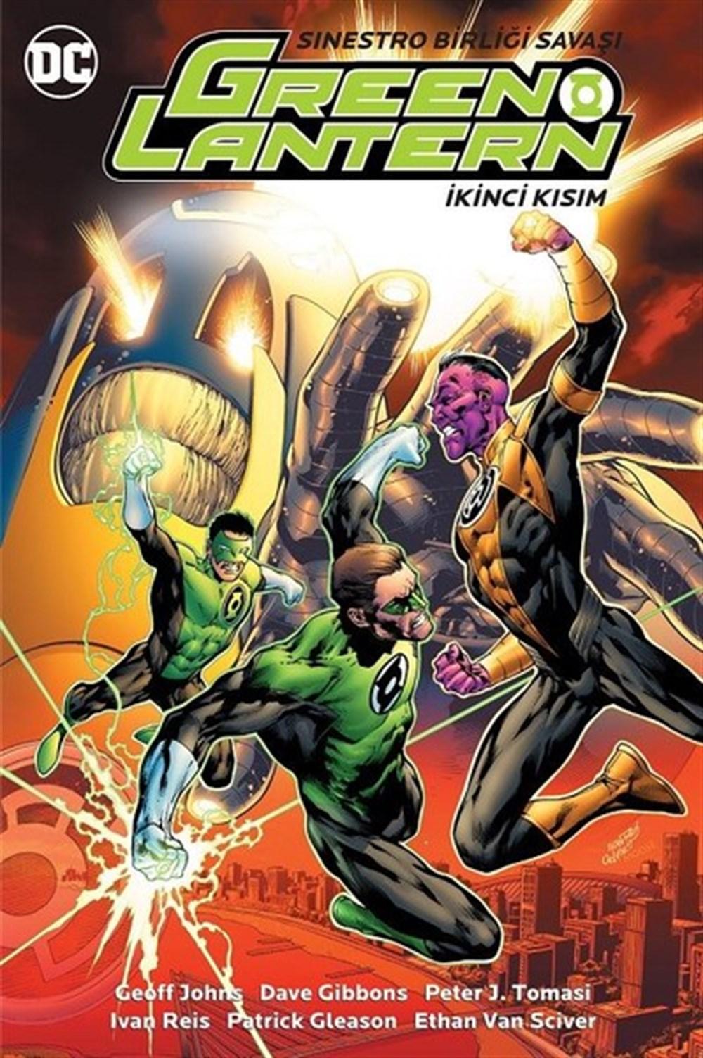 Green Lantern - Yeşil Fener Cilt 7: Sinestro Birliği Savaşı İkinci Kısım