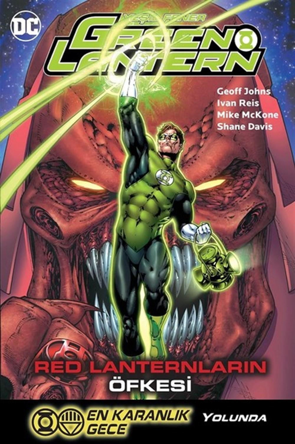Green Lantern - Yeşil Fener Cilt 8: Red Lanternlar'ın Öfkesi