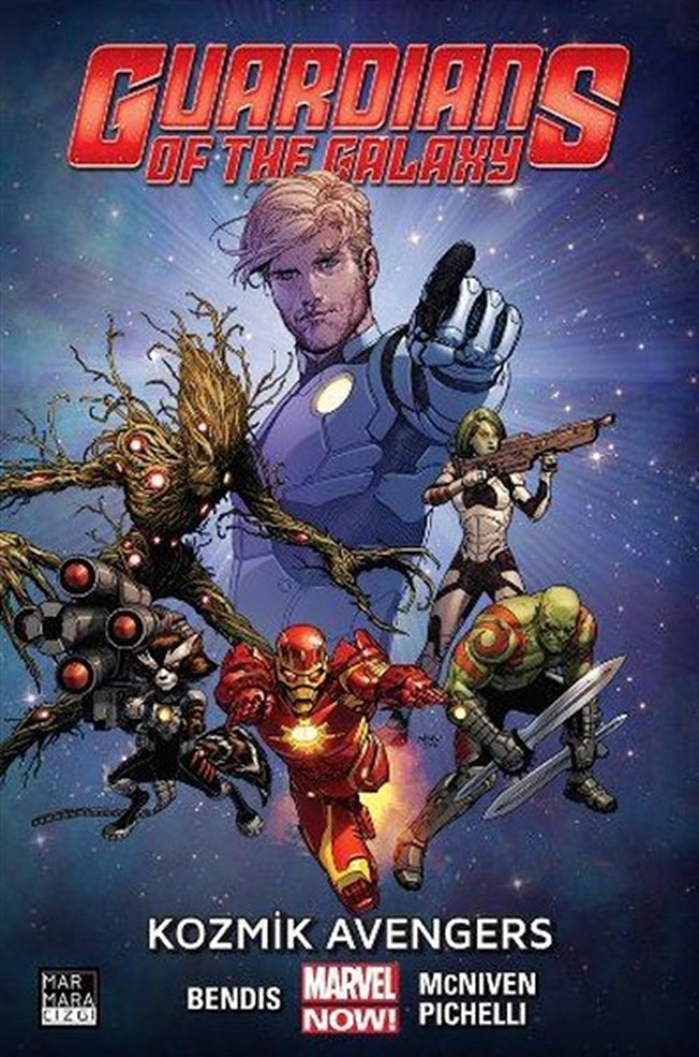 Guardians of the Galaxy Cilt 1: Kozmik Avengers