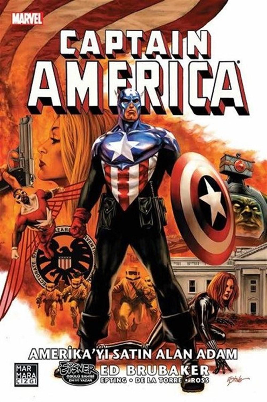 Captain America'nın Ölümü Cilt 3: Amerika'yı Satın Alan Adam