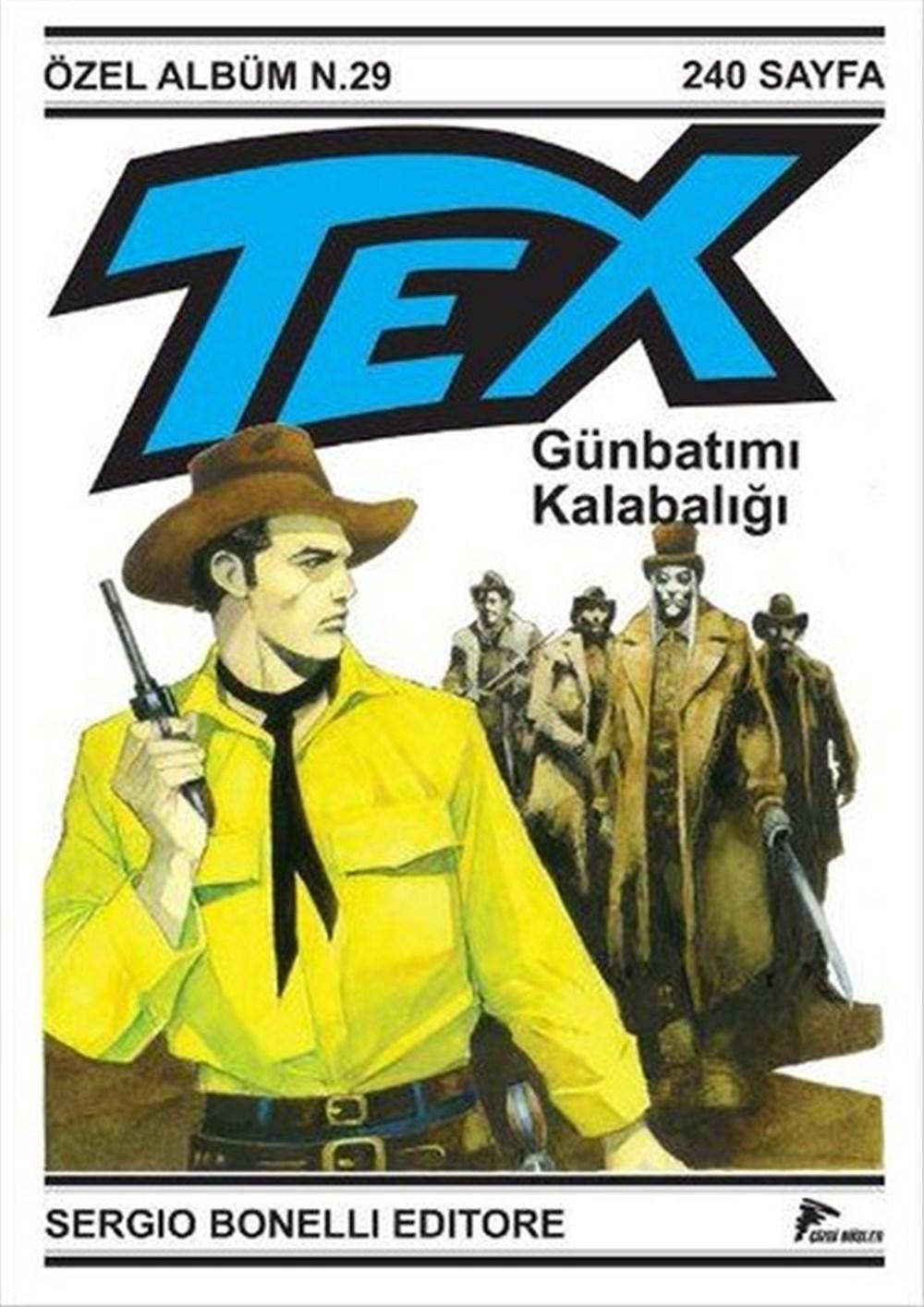 Tex Mini Dev Albüm Cilt 5: Günbatımı Kalabalığı