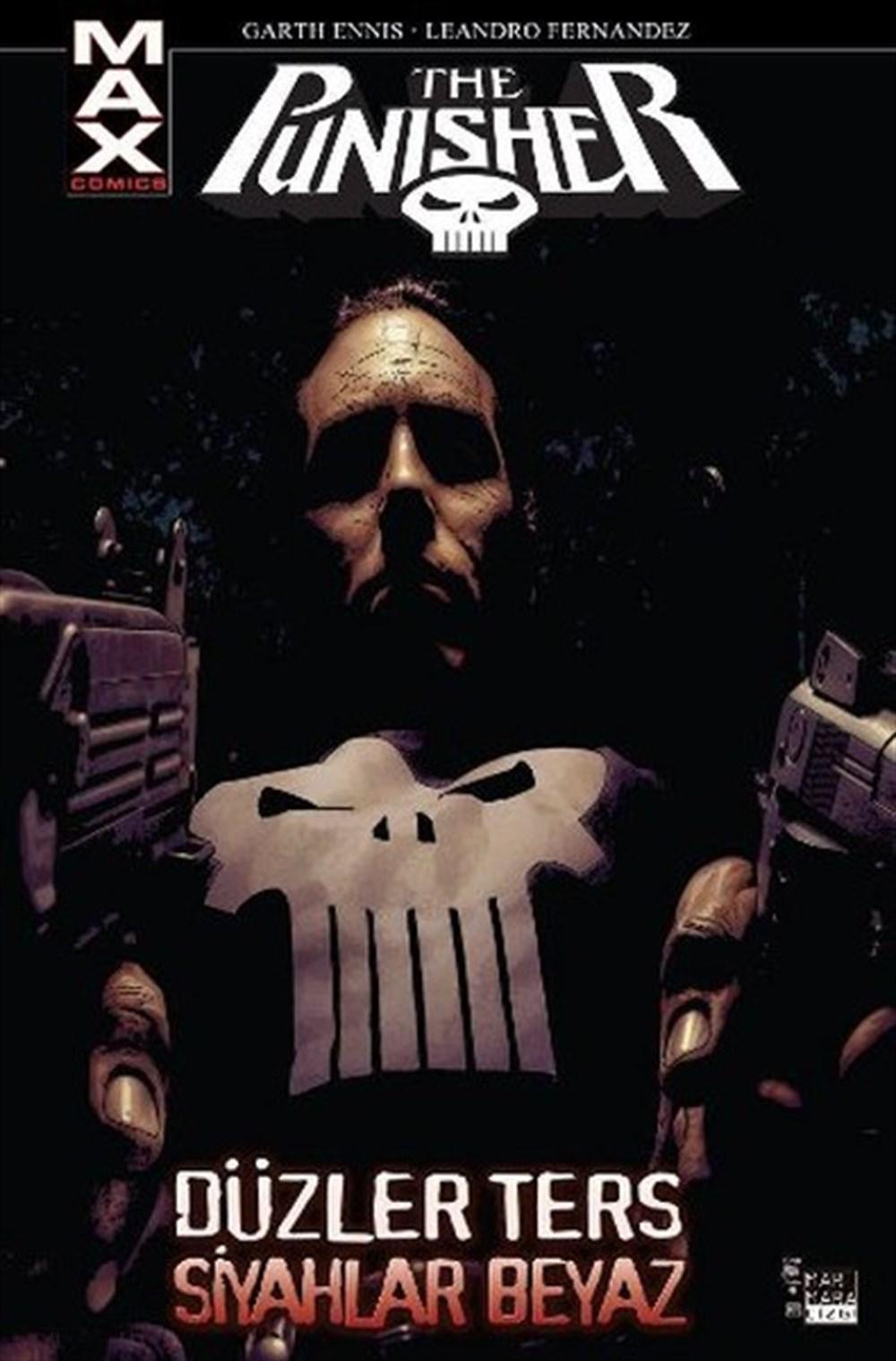 The Punisher Max 4: Düzler Ters Siyahlar Beyaz