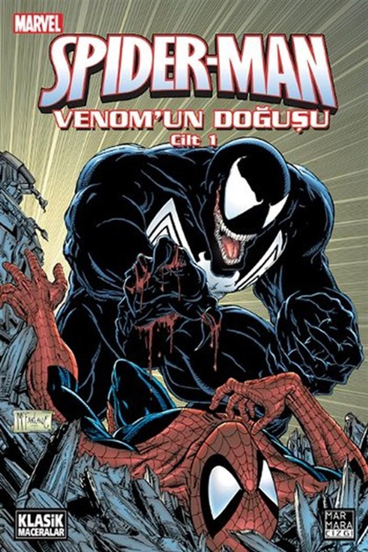 Spider-Man Venomun Doğuşu Cilt 1-2 SET