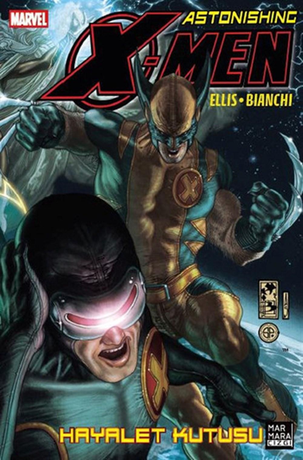 Astonishing X-Men 5: Hayalet Kutusu