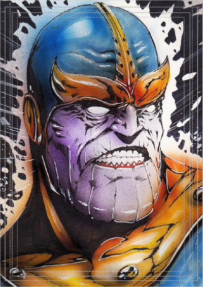 Görkem Demir Holo Sketch Card No: 9