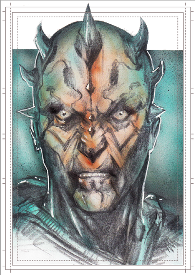 Görkem Demir Holo Sketch Card No: 13
