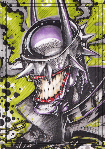 Görkem Demir Holo Sketch Card No: 25