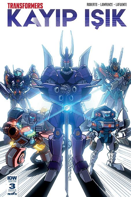 Transformers - Kayıp Işık 3: Kapak B