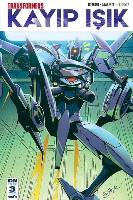 Transformers - Kayıp Işık 3: Kapak A
