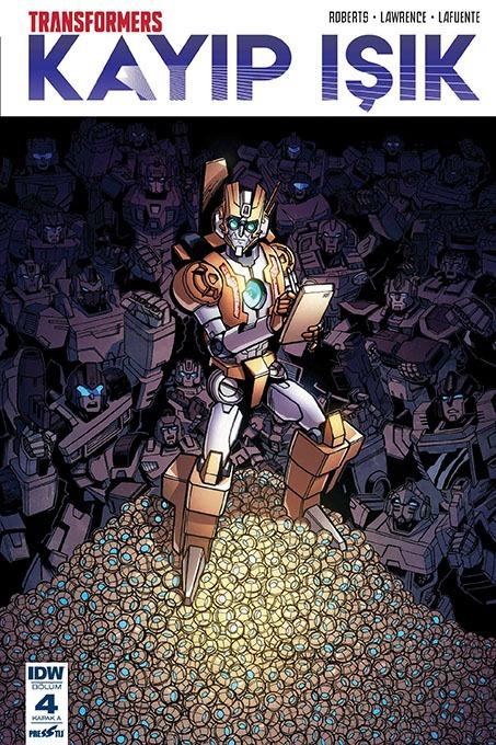 Transformers - Kayıp Işık 4: Kapak A