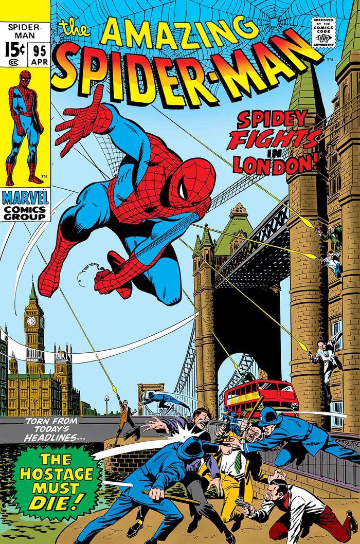 TRUE BELIEVERS SPIDER-MAN SPIDEY FIGHTS IN LONDON #1 + 1 Adet Yerli Karton ve Poşet