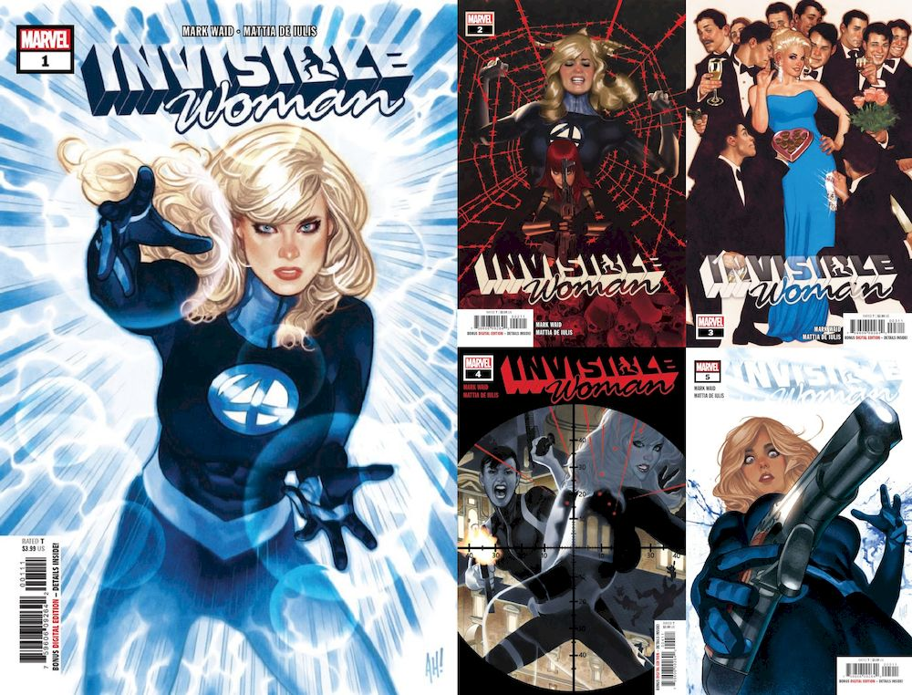 INVISIBLE WOMAN #1 - #5 (OF 5) SET