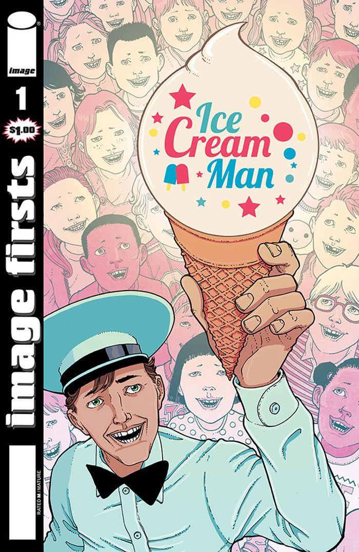 IMAGE FIRSTS ICE CREAM MAN #1 + 1 Adet Yerli Karton ve Poşet