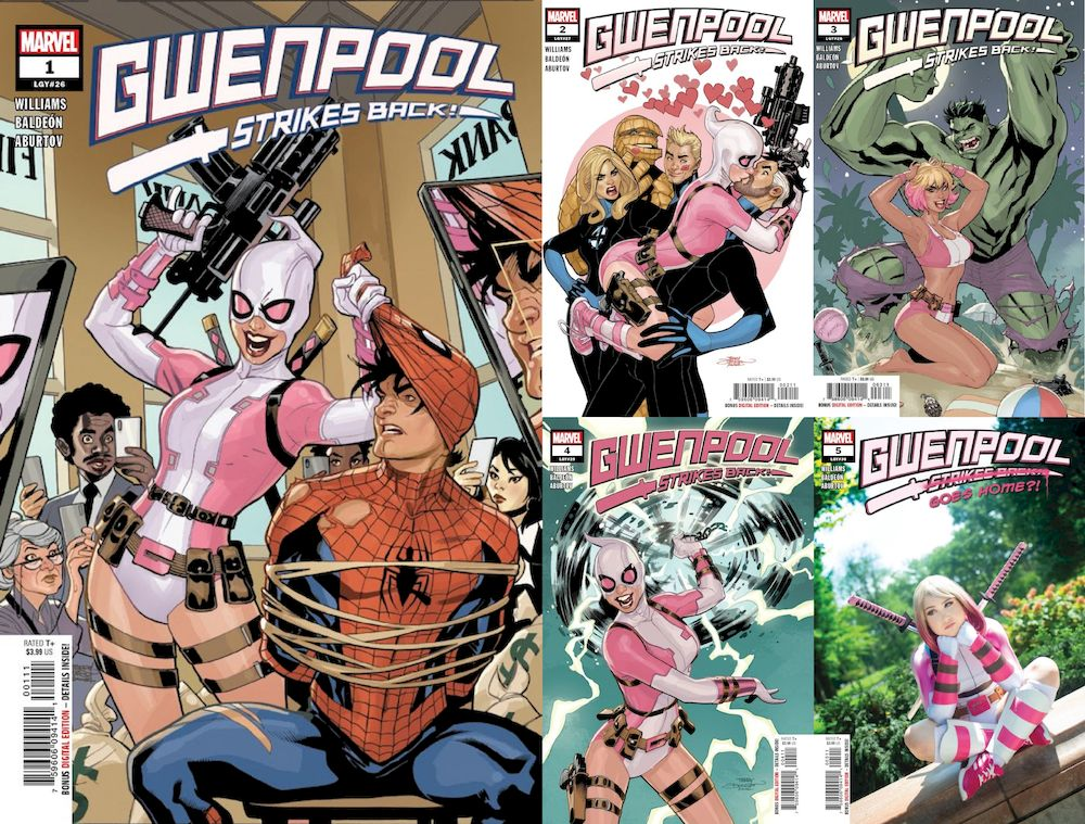 GWENPOOL STRIKES BACK #1 - #5 (OF 5) SET