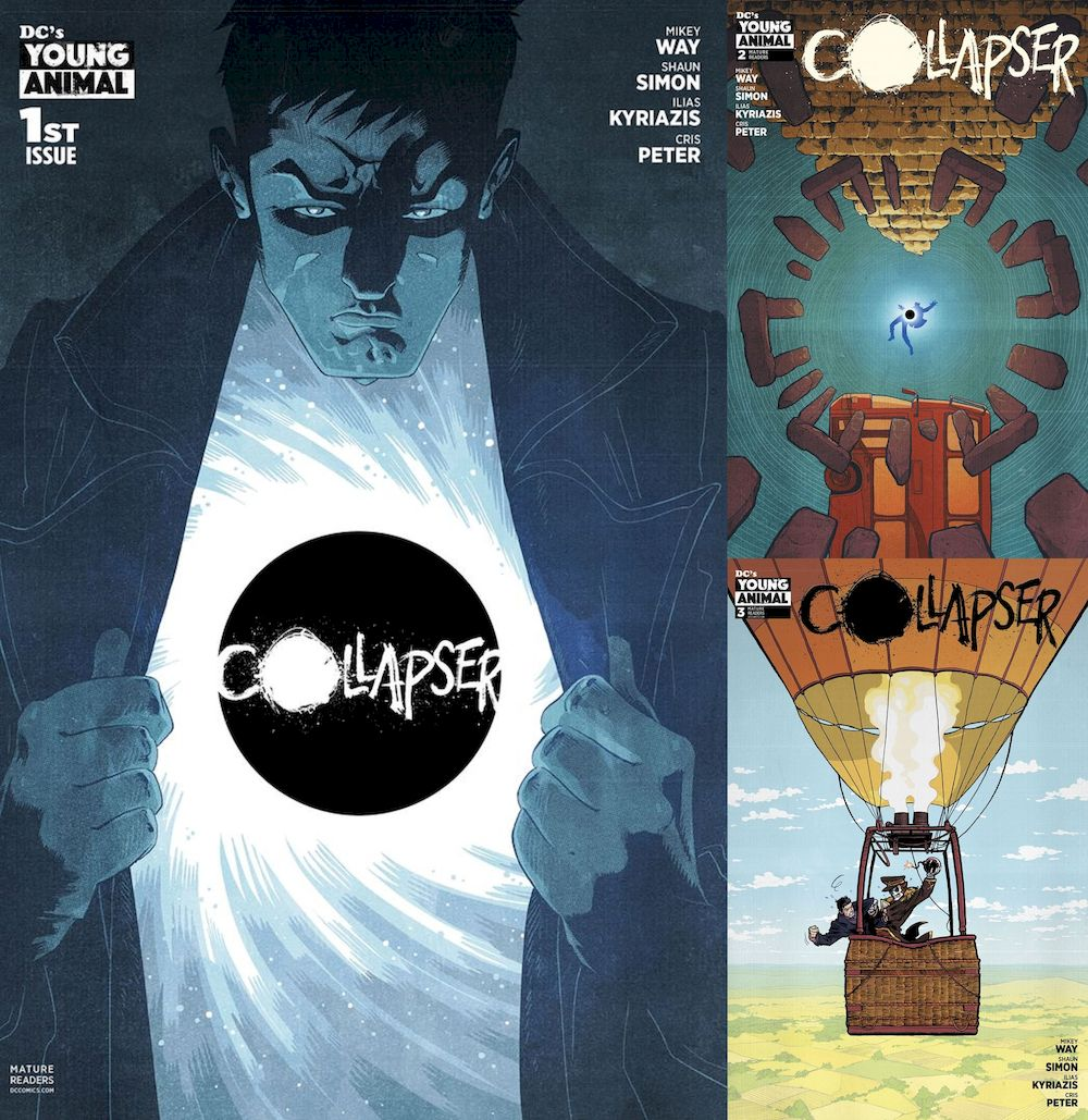 COLLAPSER #1 - #3 (OF 6) SET