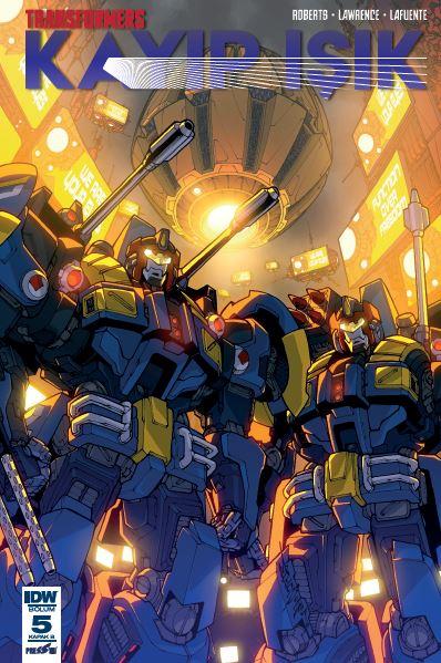 Transformers - Kayıp Işık 5: Kapak B