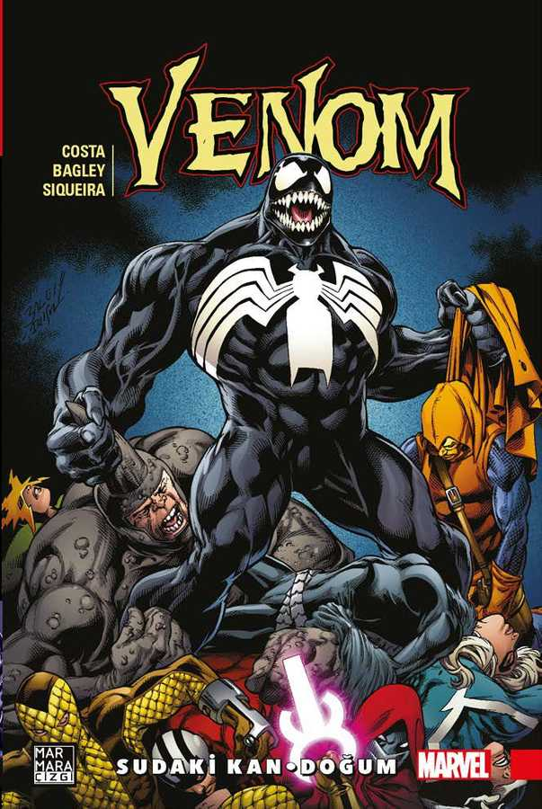 Venom Cilt 3 - Sudaki Kan - Doğum