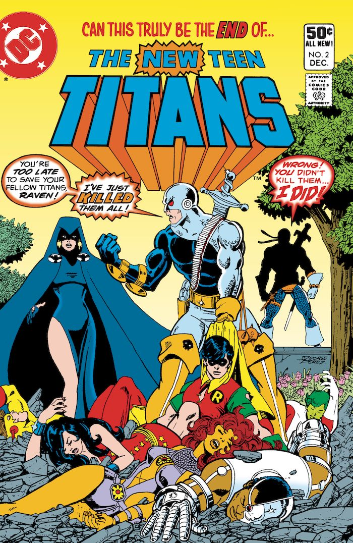 DOLLAR COMICS THE NEW TEEN TITANS #2 + 1 Adet Yerli Karton ve Poşet