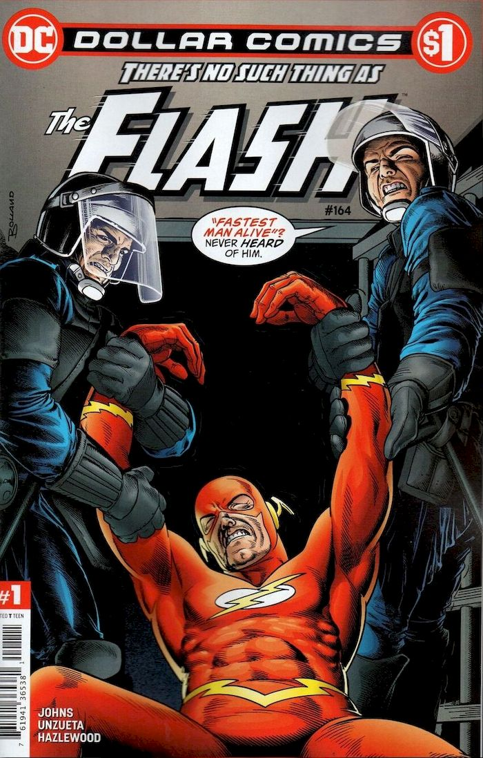 DOLLAR COMICS THE FLASH #164 + 1 Adet Yerli Karton ve Poşet