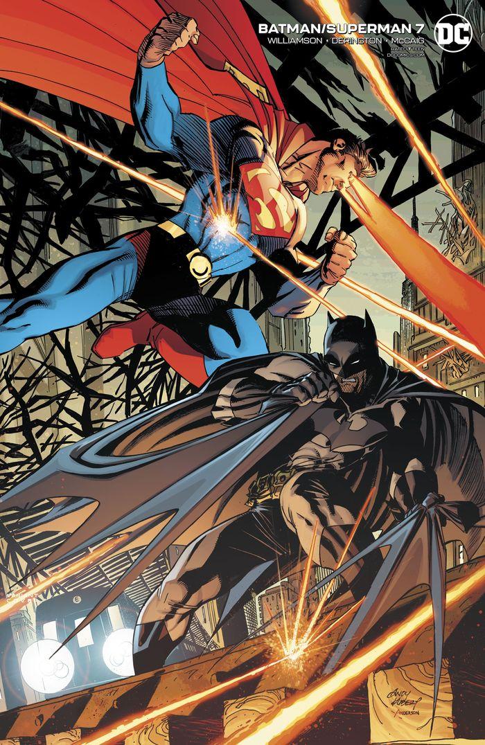 BATMAN SUPERMAN #7 ANDY KUBERT VARIANT