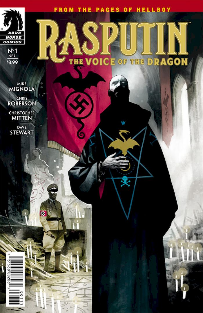RASPUTIN THE VOICE OF THE DRAGON #1 - #5 (OF 5) SET