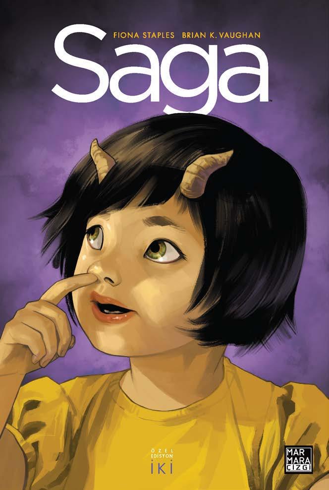 Saga Özel Edisyon ( Üç Kitap Birarada - Sert Kapak ) Cilt 2