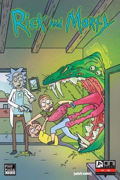 Rick and Morty Sayı 21