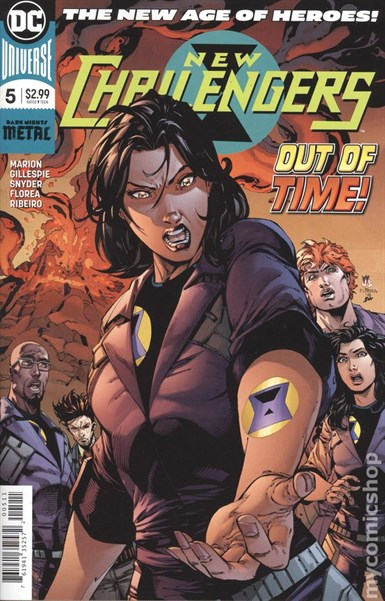 NEW CHALLENGERS #5 (OF 6)